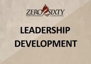Leadership Development Zero2Sixty Coaching