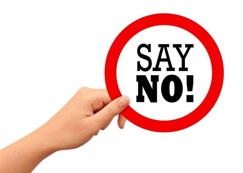 "Saying, ""NO"" = Expansion of your vision"